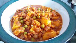 20 min 1 pot veg packed lentil, cauliflower and mango dhal Dinner Grainfree Lunch vegan