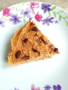 Secret veg sweet potato snickerdoodle slices Desserts Grainfree snack vegan