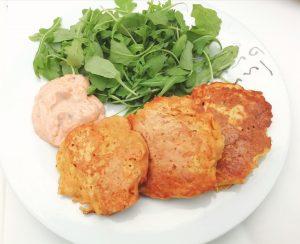 Cajun carrot chickpea flour pancakes Dinner Grainfree Lunch vegan