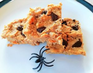 Healthy spiced pumpkin blondies Desserts snack vegan