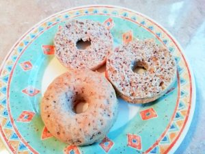 Low carb, high fibre bagels Breakfast Dinner Grainfree Lunch